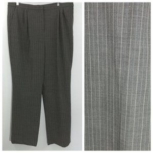 Lands End Striped Dress Pants Size 18